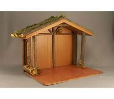 Woodworking plans nativity stable Video