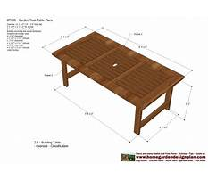 Woodworking plans outdoor table Video