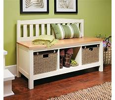 Woodworking plans storage bench Video