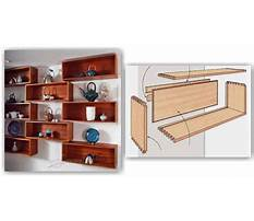 Woodworking plans wall bookcase Video