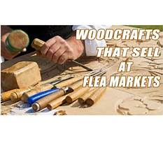 Woodworking projects that sell at flea markets Video