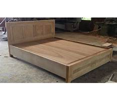 Woodworking skills are very smart how to building a queen size bed extremely simple and beautiful Video