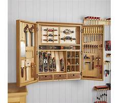 Woodworking tool cabinet Video