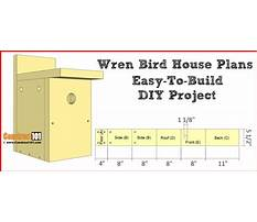 Wren bird house plans free Video