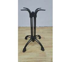 Wrought iron end table legs for sale Video