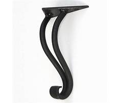 Wrought iron end table legs Video