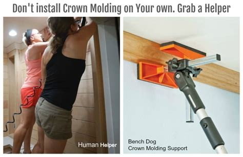 advice  crown molding  butting