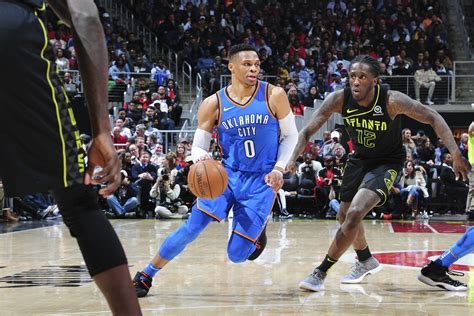 atlanta hawks  oklahoma city thunder