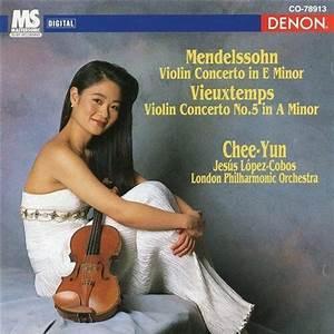 Chee-Yun, Jesús López-Cobos & London Philharmonic Orchestra