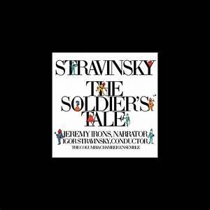 Columbia Symphony Winds and Brass, Igor Stravinsky, Jeremy Irons & Robert Craft