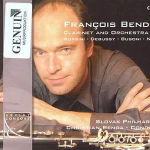 Francois Benda, Christian Benda & Slovak Philharmonic Orchestra