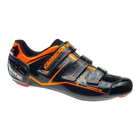 gaerne  record noir  orange chaussures velo de route