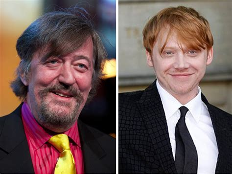 happy birthday rupert grint  stephen fry  leaky