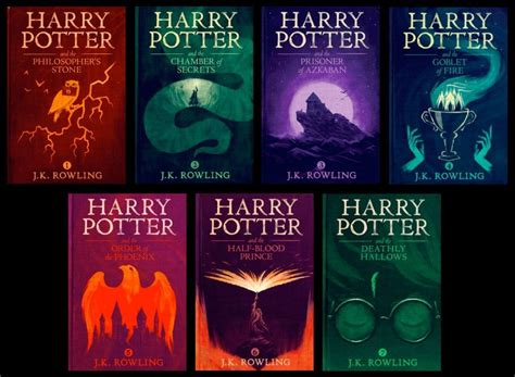 harry potter series  ebooks