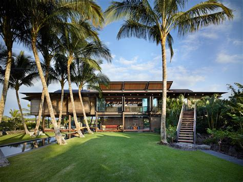 hawaiian home set   lush tropical landscape inspired
