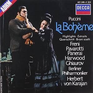 Herbert von Karajan, Luciano Pavarotti, Mirella Freni & Vienna Philharmonic