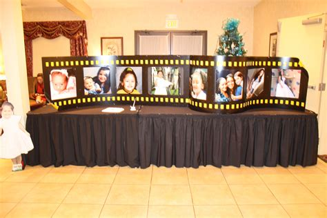 hollywood quinceanera party ideas   theme party