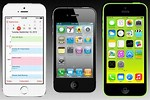 iPhone 5S Compared to iPhone 4S