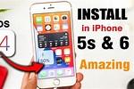 iPhone 5S Installation