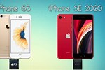 iPhone 6s vs iPhone SE 2020 Size