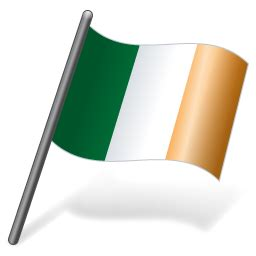 ireland flag  icon vista flags iconset icons land