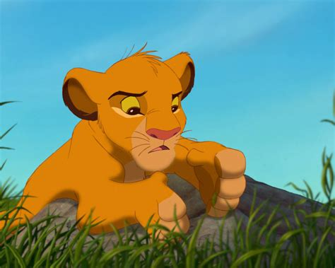 lion king cartoon adventures   young lion simba