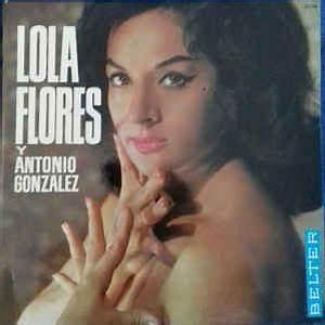Lola Flores y Antonio Gonzalez