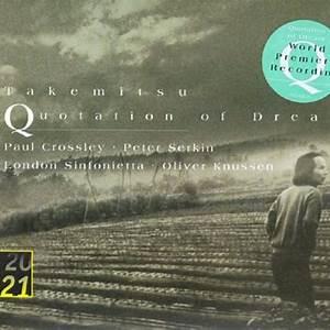 London Sinfonietta, Oliver Knussen, Paul Crossley & Peter Serkin