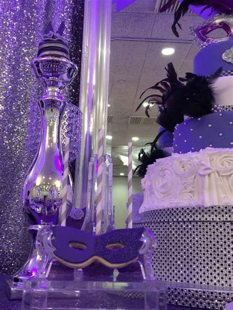 masquerade quinceanera party ideas photo