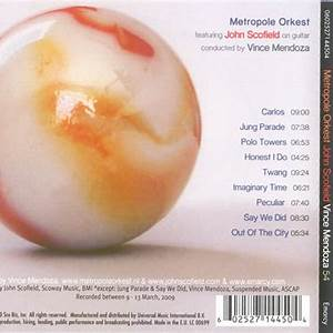 Metropole Orkest & Vince Mendoza
