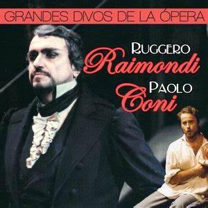 Paolo Coni, Ruggero Raimondi, Katia Ricciarelli, Orquesta Sinfónica de Madrid & Gian Paolo Sanzogno