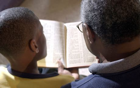 read bible favourites  children parents urged