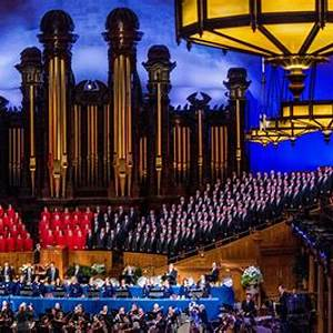 Tabernacle Choir at Temple Square & Orchestra At Temple Square