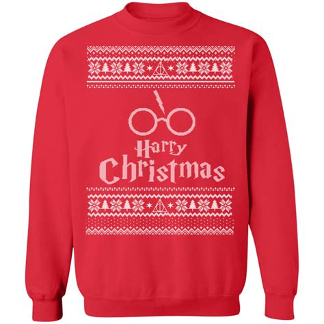 wizardly christmas sweaters harry potter christmas